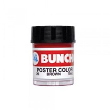 Buncho PC15CC Poster Color 26 Brown - 6/Box