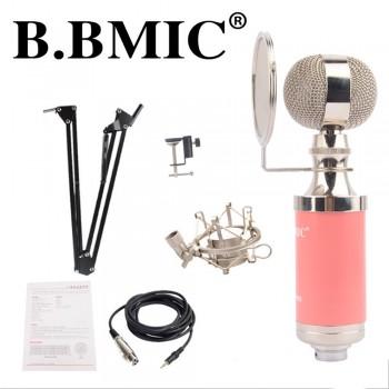 B. BMIC Bottle Condenser Microphone - Pink (Set)