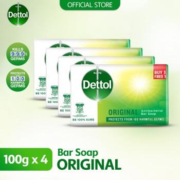 Dettol BodySoap Original 105g 3+1