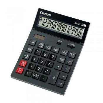 Canon AS-2600 Tilt Display Desktop 16 Digits Calculator