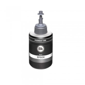 Epson T7741 Pigment Black Ink Bottle - 140ml (Item No: EPS T774100)