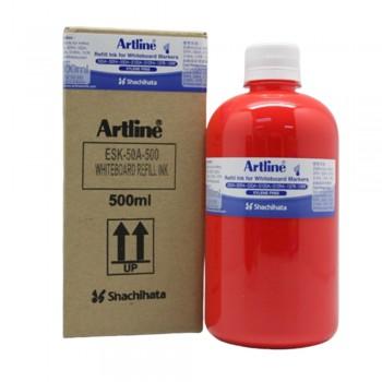 Artline White Board Refill 500cc Red