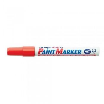 Artline 400XF Paint Marker Pen - 2.3mm Bullet Nib - Red
