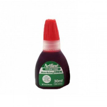 Artline Permanent Marker Refill 30ml Red