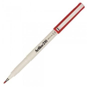 Artline 210 Writing Pen 0.6mm Red ART-210-R