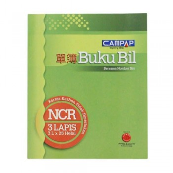 Campap Ca3843 3Ply NCR Bill Book