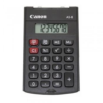 Canon AS-8 8 Digits Pocket Calculator