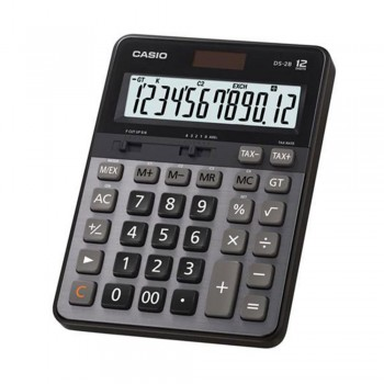 Casio DS-2B 12 Digits Heavy Duty LCD Display Electronic Calculator