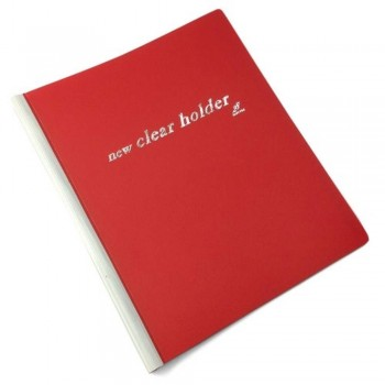 East-File Clear Holder 359A - A4 Size - Red (Item No: B11-62-R) A1R3B184