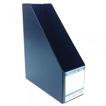 "East-File PVC Magazine Box Filing Case — 4"" (Item No:B11-95 BL) A1R5B84"