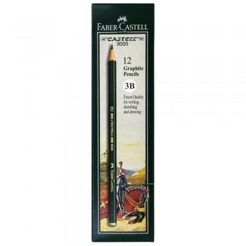 Faber Castell Graphite Pencil Castell 9000 3B (12 pcs)