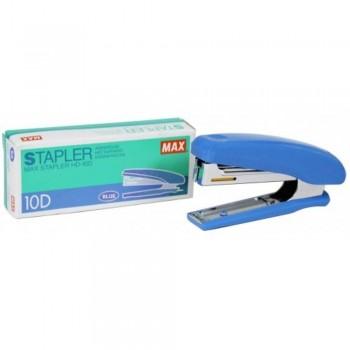 MAX HD-10D Manual Stapler - 20 sheets Capacity - BLUE (Item No: B07-11 HD10D BL) A1R2B243