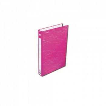 K2 8925 Fancy Hard Cover Ring File (Pink) - 25mm, 2D, 1 pcs