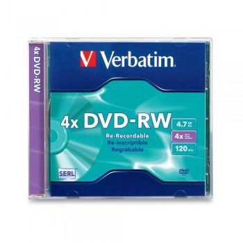 Verbatim DVD-RW 4.7gb 120min Casing (1pc)