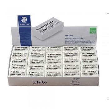 Staedtler Economy White Eraser (526 35F) 50pcs/box