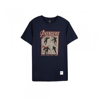 Avengers Endgame Series: Avenger Tee Group - Navy Blue, S