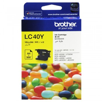 Brother LC-40 Yellow Ink