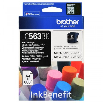 Brother LC-563 Black Ink Cartridge