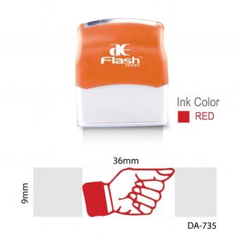 AE Flash Stamp - DA-735 (Right Side)