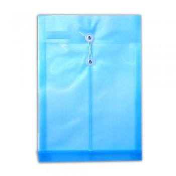 F4 Top Open Document Holder Blue