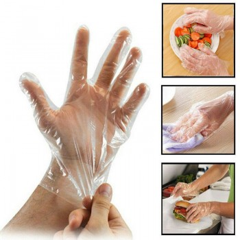 HDPE Disposable Gloves (100pcs)