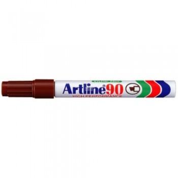 Artline Permanent Marker EK-90 Brown