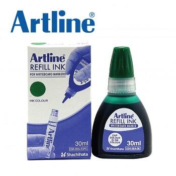 Artline Whiteboard Markers Refill Ink ESK-50A 30ml Green