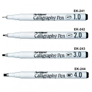 Artline Calligraphy Pen (Black)
