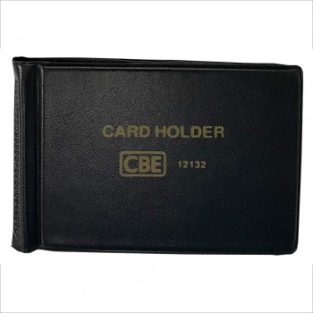 CBE 12132 PVC Name Card Holder - Black