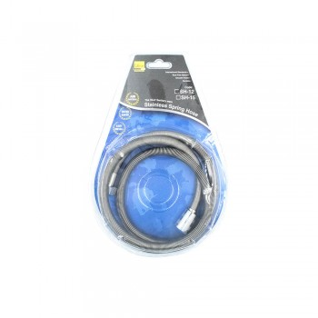 Leon Stainless Steel Spring Hose 1.2m