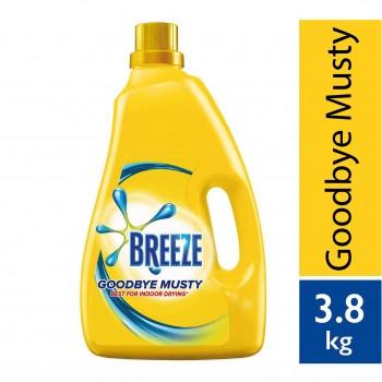 Breeze Goodbye Musty Liquid Detergent 3.8kg