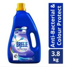 Breeze AntiBac & Colour Protect Liquid Detergent 3.8kg