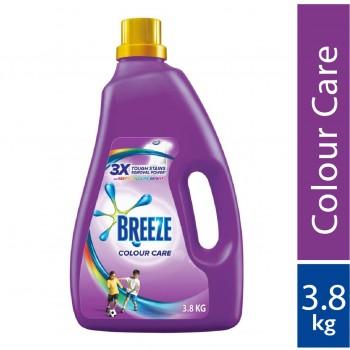 Breeze Colour Care Liquid Detergent 3.8kg