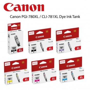 Canon PGI-780XL / CLI-781XL Dye Ink Tank