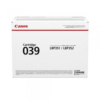 Canon Cartridge 039 Black Toner 11k