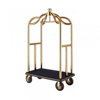 Crown Birdcage Cart LD-BCT-417/GP (Item No: G01-199)