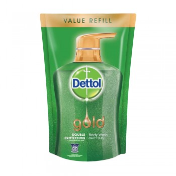 Dettol Shower Gel Gold Daily Clean 900ml