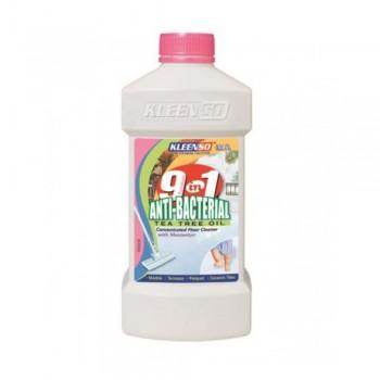 Kleenso 9 in 1 Anti-Bacterial Tea Tree Oil Floor Cleaner 900ml, Pink