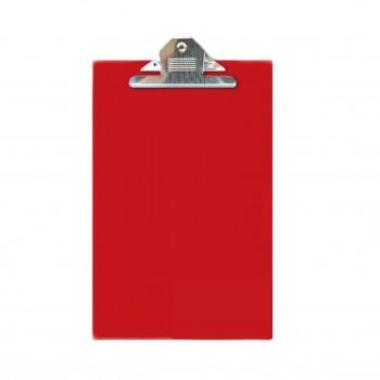 EAST FILE PVC JUMBO CLIP F4 Red 2496F
