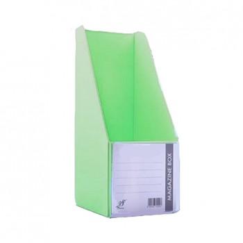 "EAST FILE PVC MAGAZINE BOX 412 4"" Ice Green"