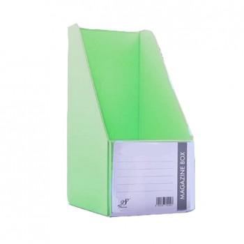 "EAST FILE PVC MAGAZINE BOX 412 5"" Ice Green"
