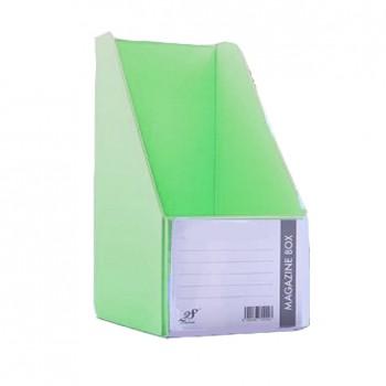 "EAST FILE PVC MAGAZINE BOX 412 6"" Ice Green"