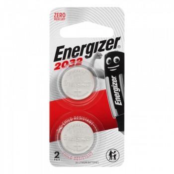 Energizer CR2032 3V Lithium Battery 2 Pack