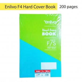 Enlivo F4 Hard Cover Book - 200pages