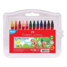 Faber Castell Wax Crayon 12 colours
