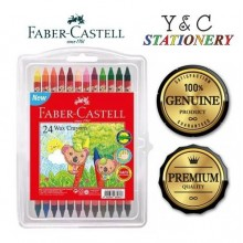 Faber Castell Wax Crayon 24 colours
