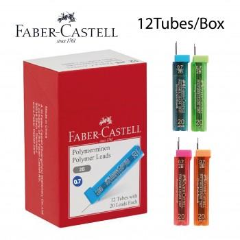 Faber Castell 2B Polymer Pencil Lead 0.7mm Box