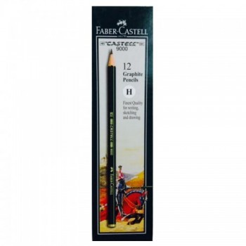 Faber Castell Graphite Pencil Castell 9000 H (12 pcs)