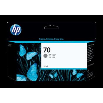 HP 70 DesignJet Ink Cartridge 130-ml - Gray (C9450A)