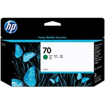 HP 70 DesignJet Ink Cartridge 130-ml - Green (C9457A)